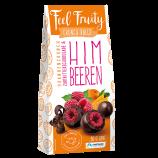 Feel Fruity - Himbeeren in Zartbitterschokolade (90g)