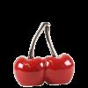Deko-Kirschen (12 cm hoch & 12 cm breit)