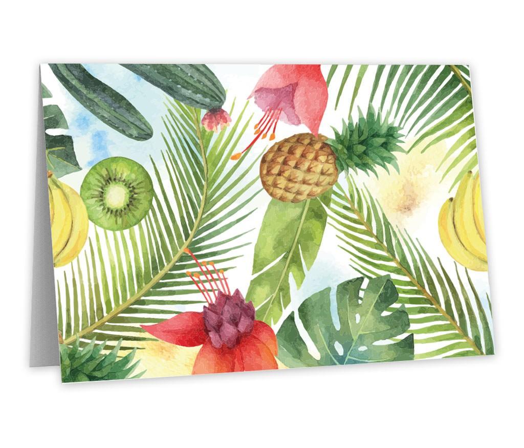 Grußkarte gemalte Früchte mit künstlerischem Motiv für außergewöhnliche Grüße