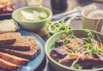 Gesundes Essen für die Mittagspause