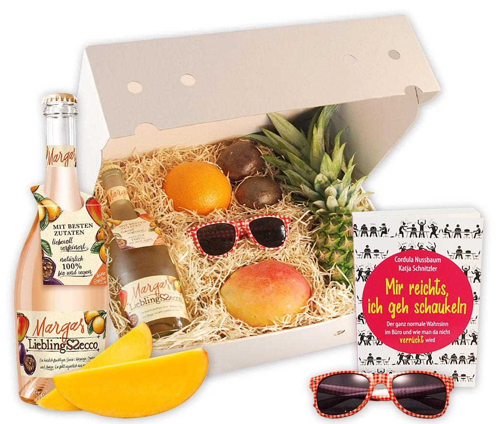 Obstbox Sommerspaß: Mir reichts, leckere Früchte und ein Taschenbuch für den Sommer