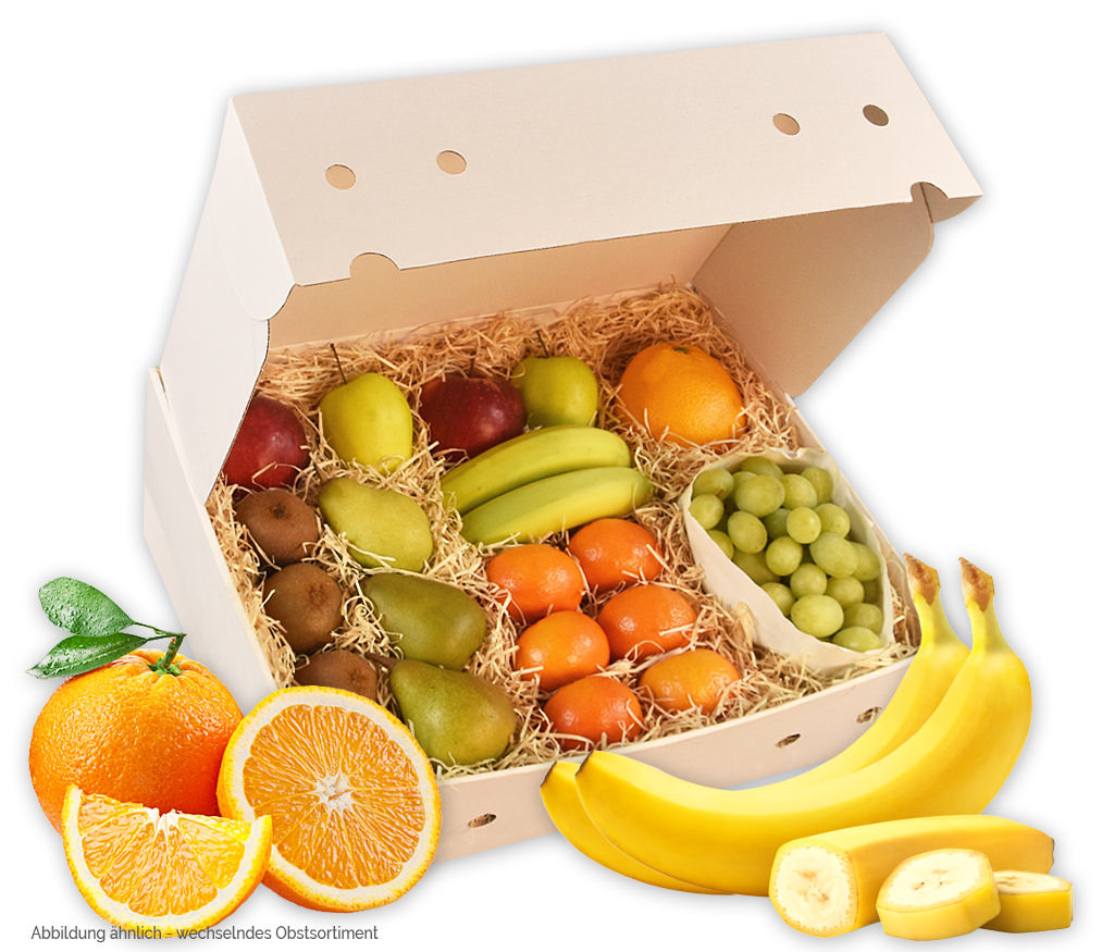 Obstbox für Mitarbeiter im Home-Office