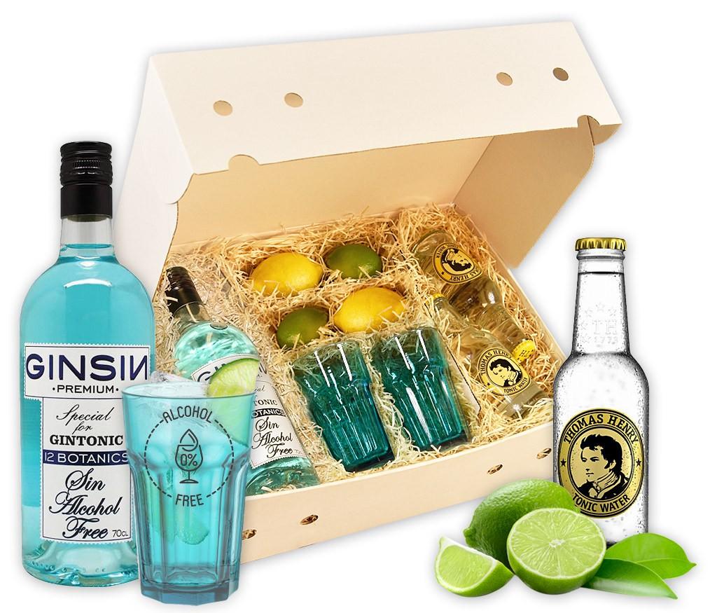 Cocktailbox Gin Tonic mit allen Zutaten für den klassischen Cocktail als Hit für die nächste Party