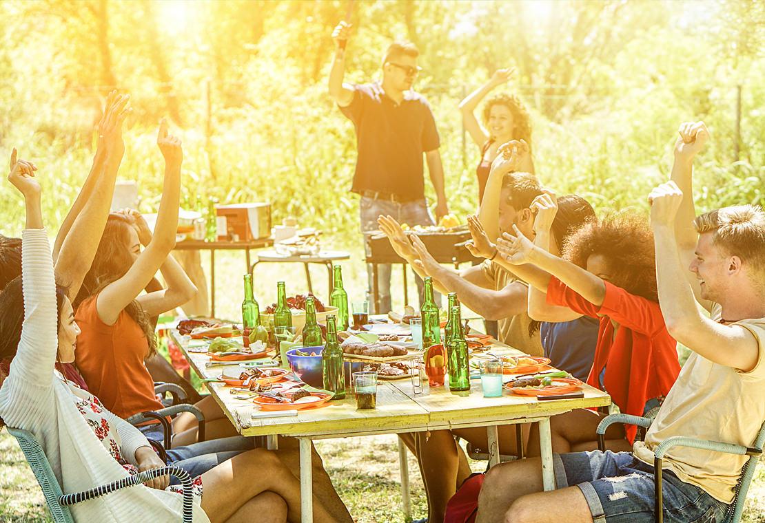 Sommerzeit – Urlaubszeit – Partyzeit