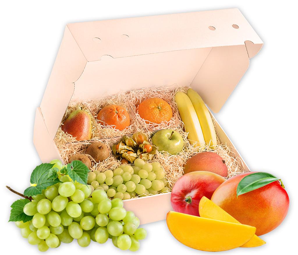 Obstbox Herbstfeeling, vitaminreiche Früchte für gesunden Herbstgenuß