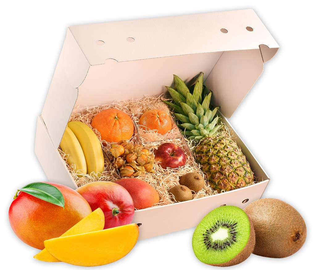 Obstbox Wintergfeeling, frische Früchte für einen gesunden Winter