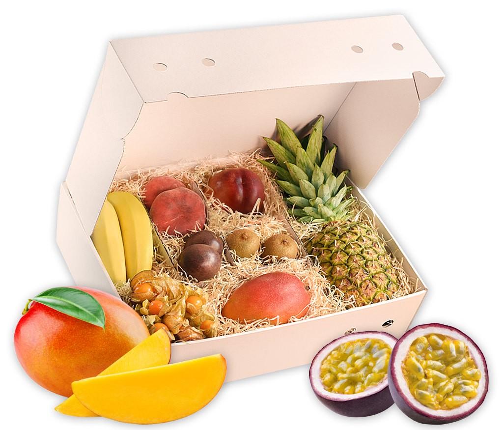 Obstbox Tropical, exotische Früchte aus tropischen Regionen