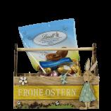 Osterkörbchen & Lindt-Schokoladen-Eier im Set