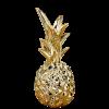goldfarbene Deko-Ananas (21 cm hoch)