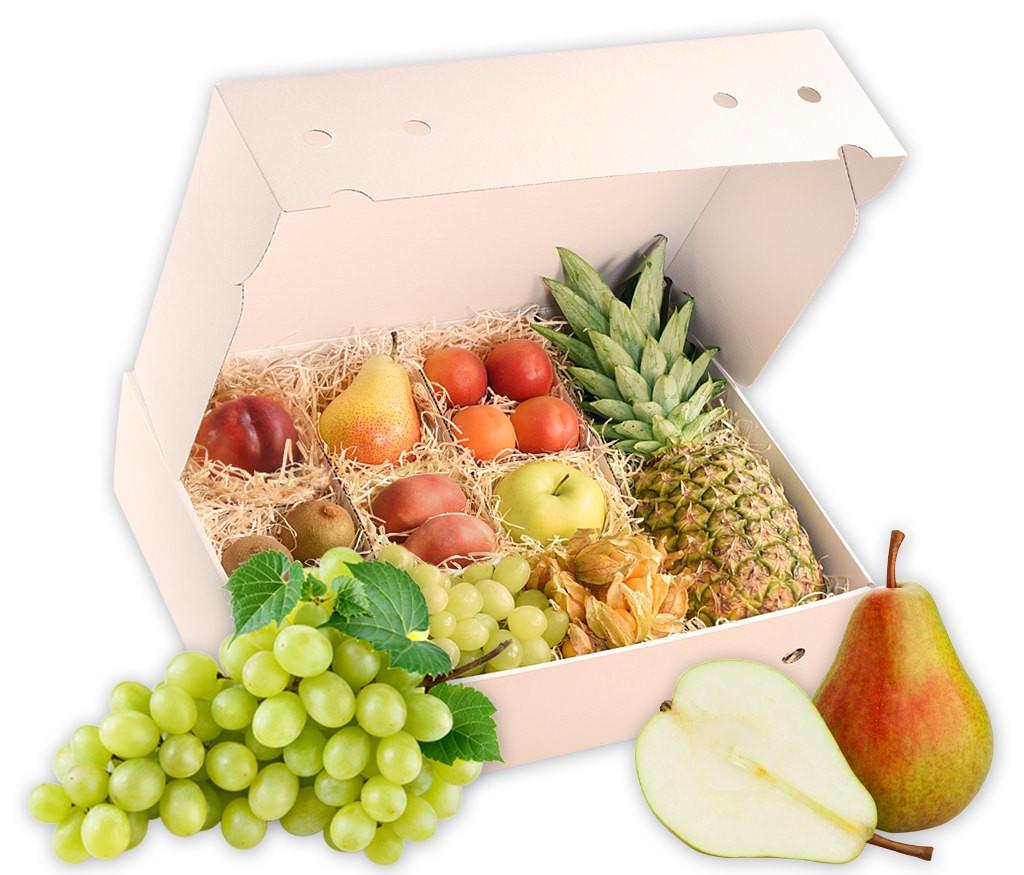Obstbox Genesungsgruß, frische vitaminreiche Früchte zur guten Besserung