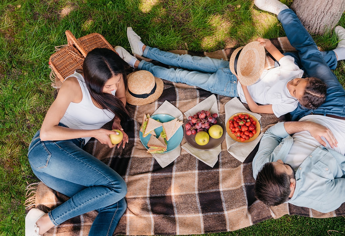 Die Picknick-Saison ist eröffnet