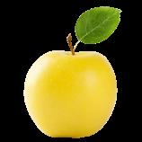 Apfel, gelb