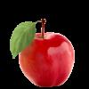Apfel, rot