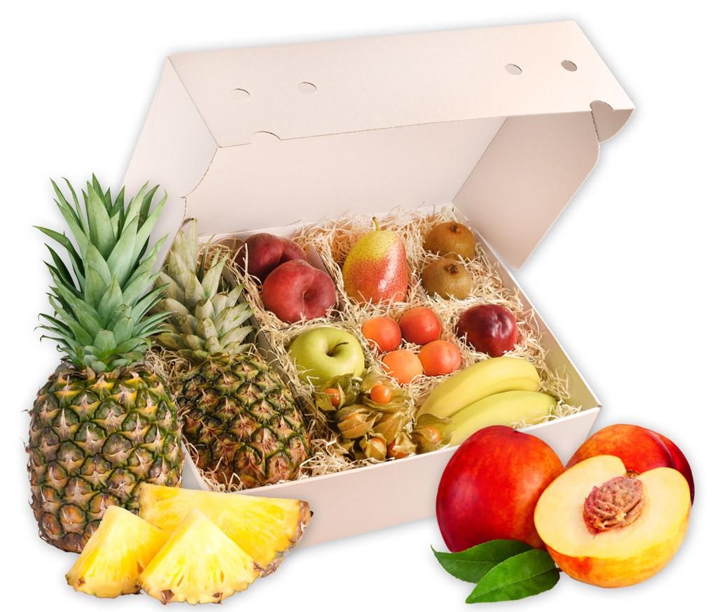 Obstbox Sommergruß, vitaminreiche Früche für dem Sommer