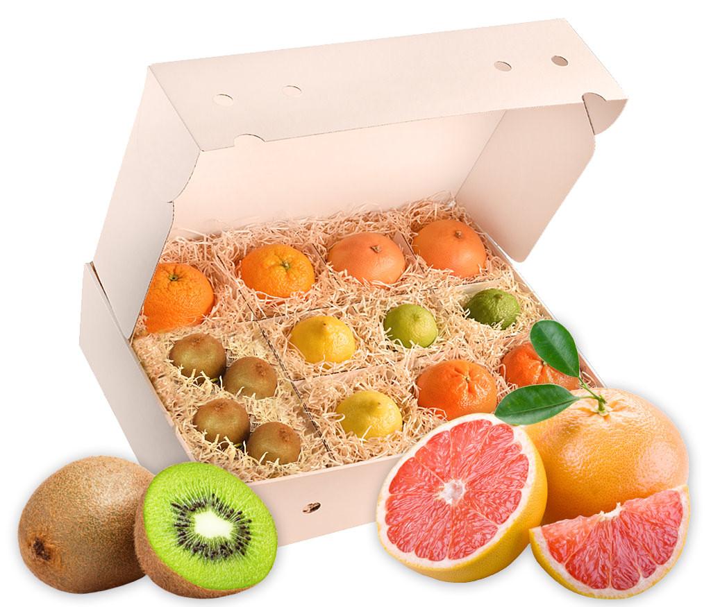 Obstbox Vitamin-C, gesunde Früchte zur Genesung oder einfach mal so