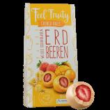 Feel Fruity - Erdbeeren mit Mango in weißer Schokolade (90g)